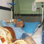 علی یوسفی خبرنگار اسبق خبرگزاری فارس در پارساباد در بیمارستان بستری شد