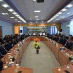 نشست مشترک نمایندگان فرمانداری با سربازرسان انتخابات برگزار شد