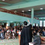 آیین استقبال از ماه مبارک رمضان در پارساباد برگزار شد/تصاویر