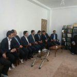 اولین دیدار منتخبین پنجمین دوره شورای شهر پارساباد با حجت الاسلام رشادی