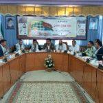 جلسه شورای اداری هفته دفاع مقدس در شهرستان پارس آباد برگزار شد
