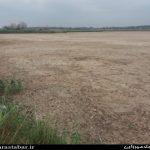 خشک شدن تالاب سد میل مغان و کاهش حجم رود ارس به مرز هشدار رسید+عکس