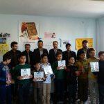 مسابقه نقاشی با موضوع؛همدردی با مردم مظلوم کرمانشاه