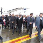 انتظارها به پایان رسید/از سر گیری پروازهای فرودگاه پارس اباد بعد از نزدیک به شش سال انتظار/همراه با حواشی مراسم