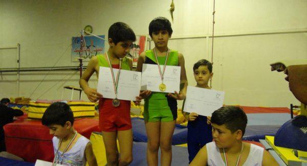 ورزشکاران نونهال پارس آباد مدالهای المپیاد استانی را درو کردند