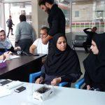برگزاری ایستگاه سلامت توسط هیئت مدیره نظام پرستاری شهرستان پارس آباد