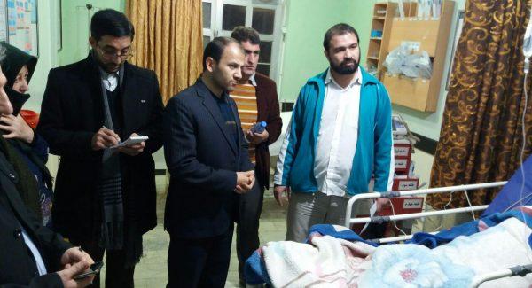 بازدید نامحسوس و شبانه دادستان شهرستان پارس آباد از اورژانس شبکه بهداشت و تامین اجتماعی