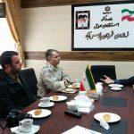پادگان شهید مدنی اصلاندوز آماده همکاری در تمامی زمینه های نظامی،امنیتی،ژئوپلیتیکی و آسیب های اجتماعی است