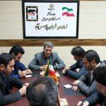نشست فرماندار شهرستان پارس آباد با معاونین و بخشداران بخش های تابعه