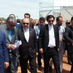 افتتاح و بهره برداری از ۵ پروژه ورزشی به ارزش بیش از ۳۱ میلیارد ریال در شهرستان پارس آباد