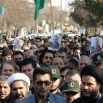 راهپیمایی مردم پارس آباد در محکومیت ترور سردار سلیمانی