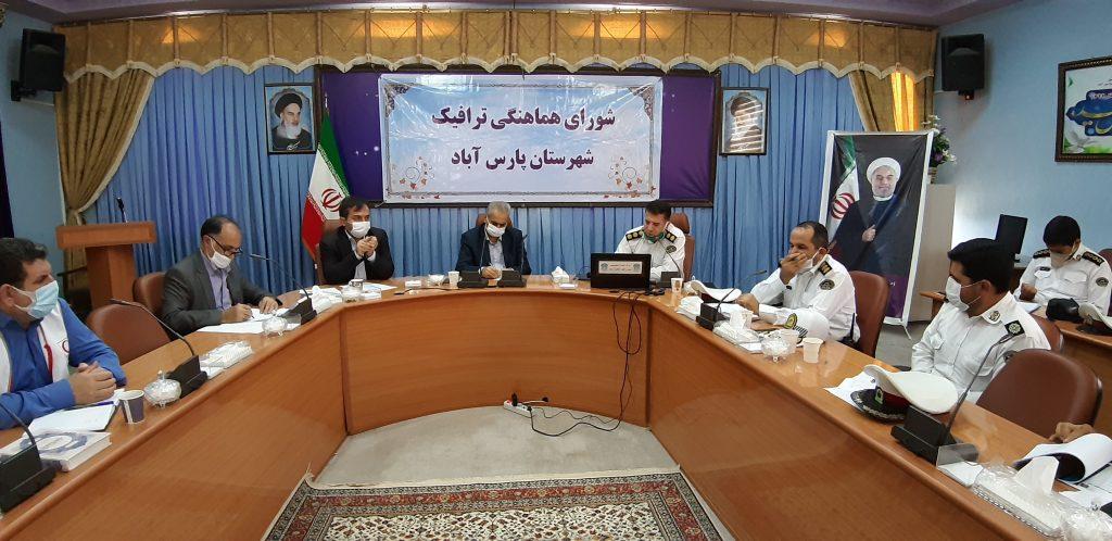 پارس آباد آمار تصادفات کل استان را زیر سوال برده است