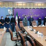 دیدار فرماندار شهرستان پارس آباد با بسیج دانشجویی دانشگاههای پارس آباد