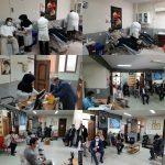 اهداء خون حقوقدانان بسیجی پارس آبادمغان